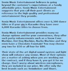 about sonix music djs p